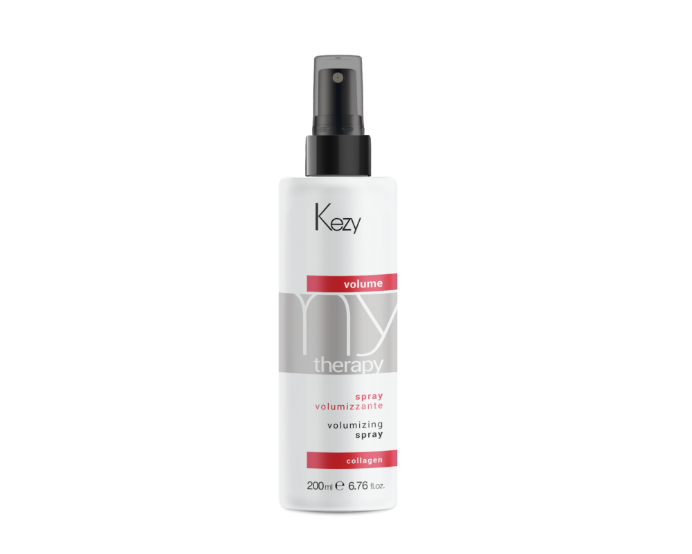 Kezy MT Volume Volumizing spray Спрей для придания объема с морским коллагеном, экстр. бамбук 200 мл